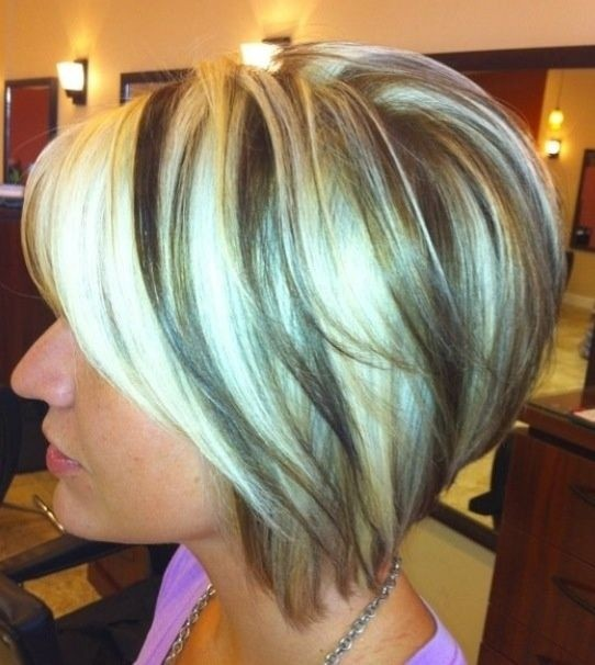 Short inverted bob hairstyle girls haircuts via