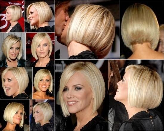 Straight Bob Hairstyle for Short Hair: Jenny McCarthy Haircuts