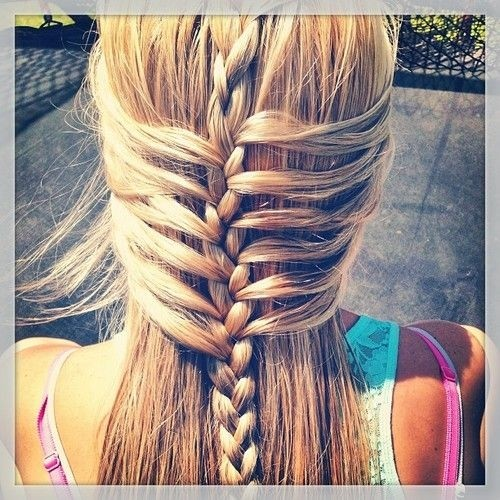 Trendy DIY Braided Hairstyles: Long Straight Hair for Girls