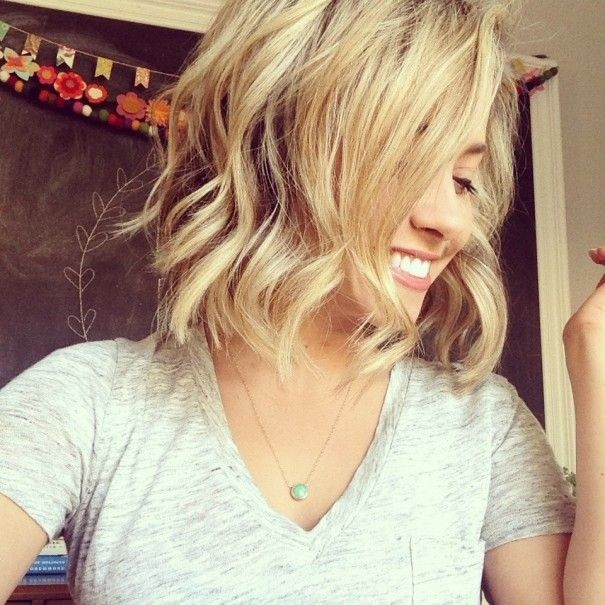 Waves for Short Hair with a Straightener