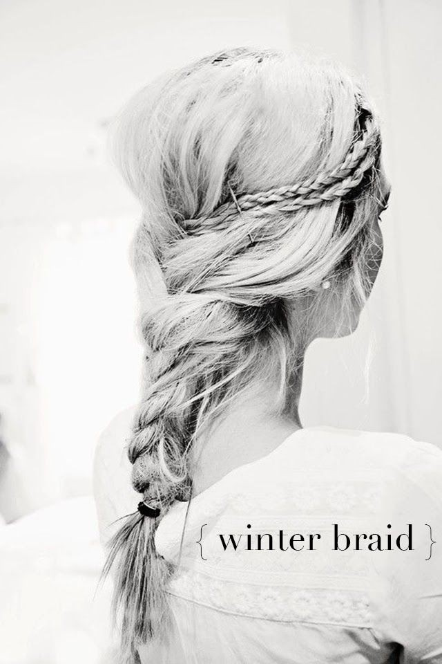 Winter Hairstyles for Braids