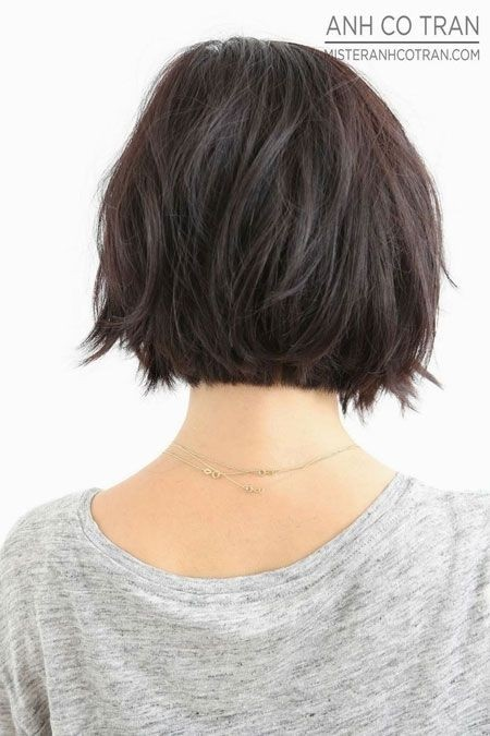 Blunt Bob Haircut Back View / Via