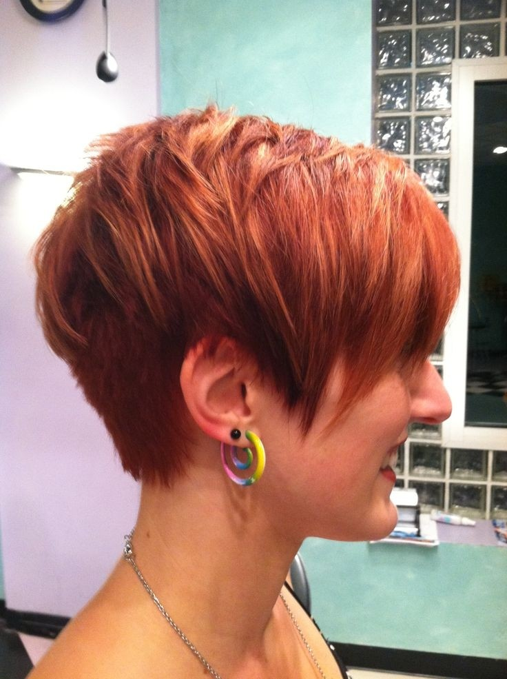 Chic Pixie Haircuts for Women: Short Red Hair