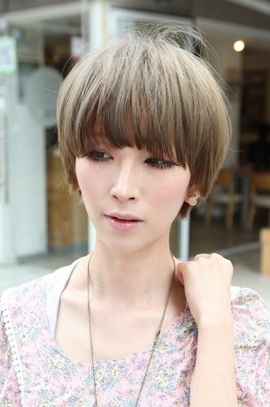 Cool Short Asian Haircut