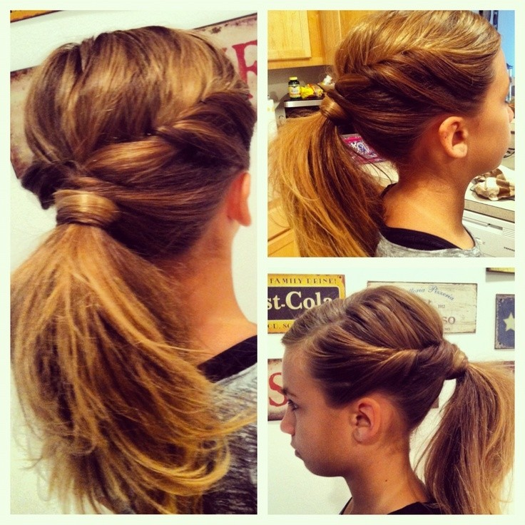 Easy Ponytail Idea: Girls Hairstyles