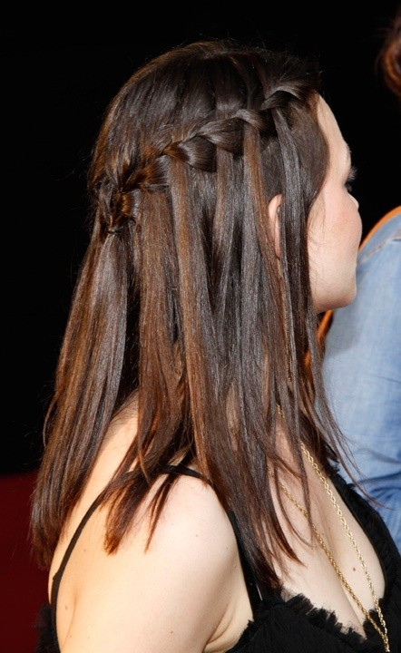 Flawless Waterfall Braid: French Hairstyles