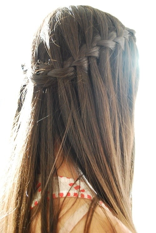 11 Waterfall French Braid Hairstyles Long Hair Ideas