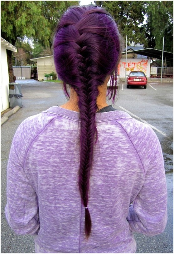 Long Hairstyles for Fall: Fishtail Braid