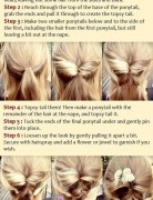 Loose Updo Hairstyle for Holiday