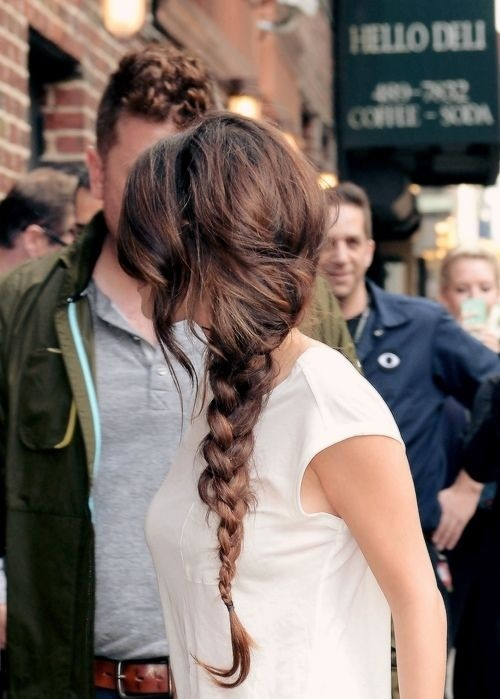 Messy Side Braid Hairstyles: Long Hair Ideas