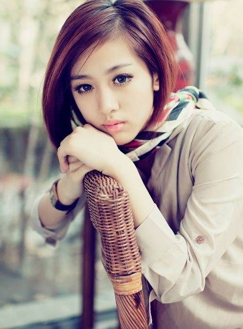 Most Popular Short Asian Hairstyles for Women and Girls