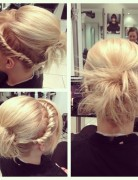 Rope Braid for Short Hair: Braids Updos
