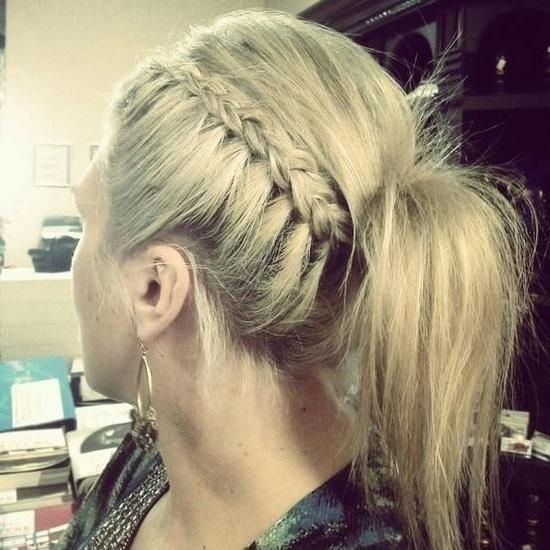 Side Braid & Ponytail and Cool Ponytail Ideas
