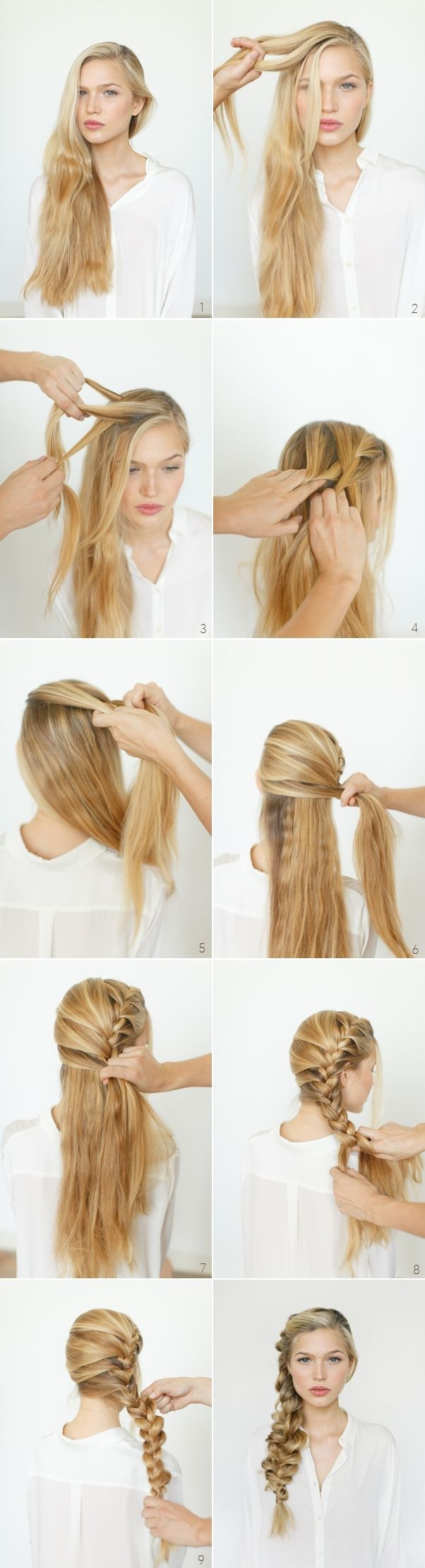 Side Braided Hairstyles: Long Hair Ideas