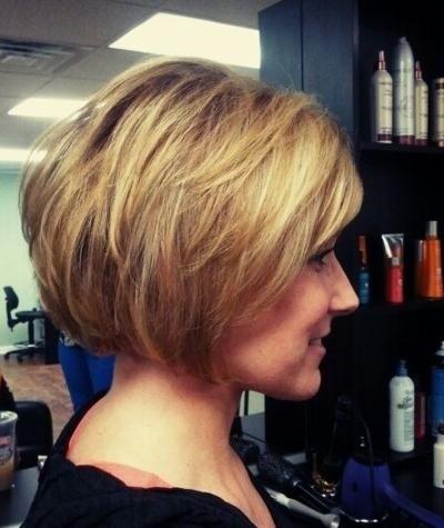 Stacked Short Layered Bob Hairstyles 79