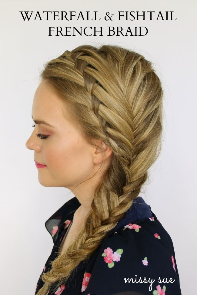 Waterfall & Fishtal French Braid