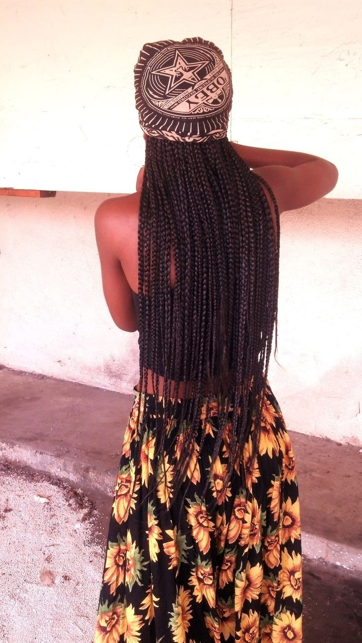 African Hair Braiding: Long Box Braids for Summer