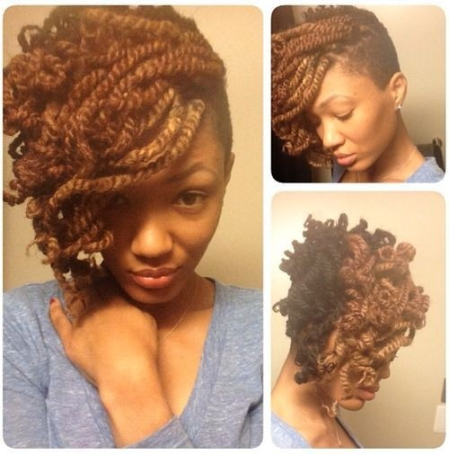 African Hair Braiding Styles: Lovely Kinky Twist Updo