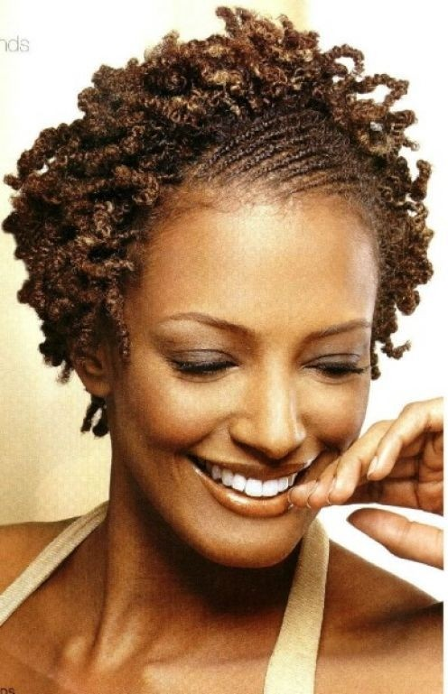 African Hair Braiding for Short Hair: Flat Twists