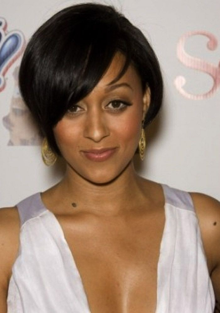 Black celebrity haircuts women