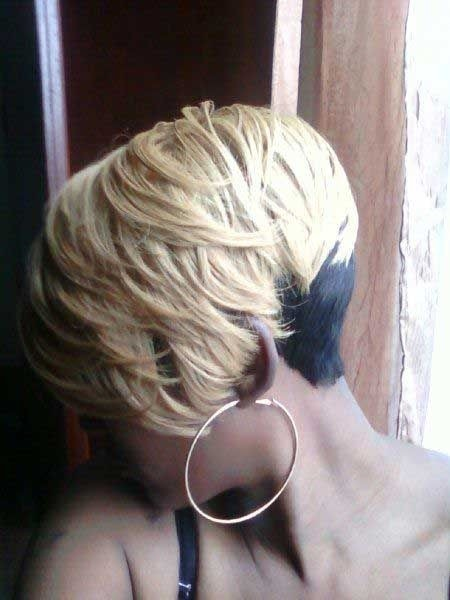 Black And Blonde Color For Short Hair Black Women Hairstyles Popular Haircuts