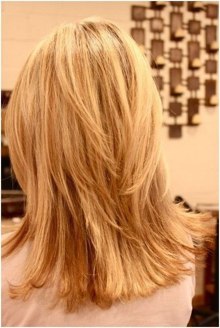 Blunt Layered Haircut: Girls Medium Hair