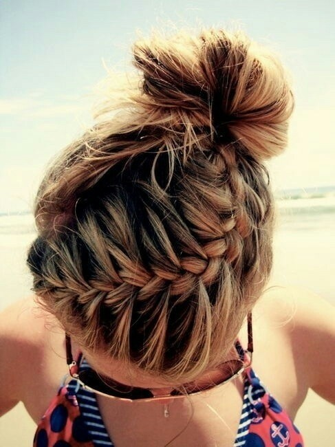 Braid Bun Updos for Summer 2014 - 2015