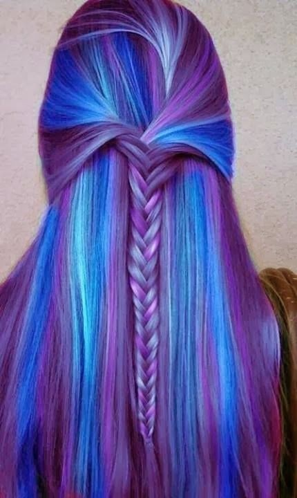 Braided Hairstyle for Long Straight Hair