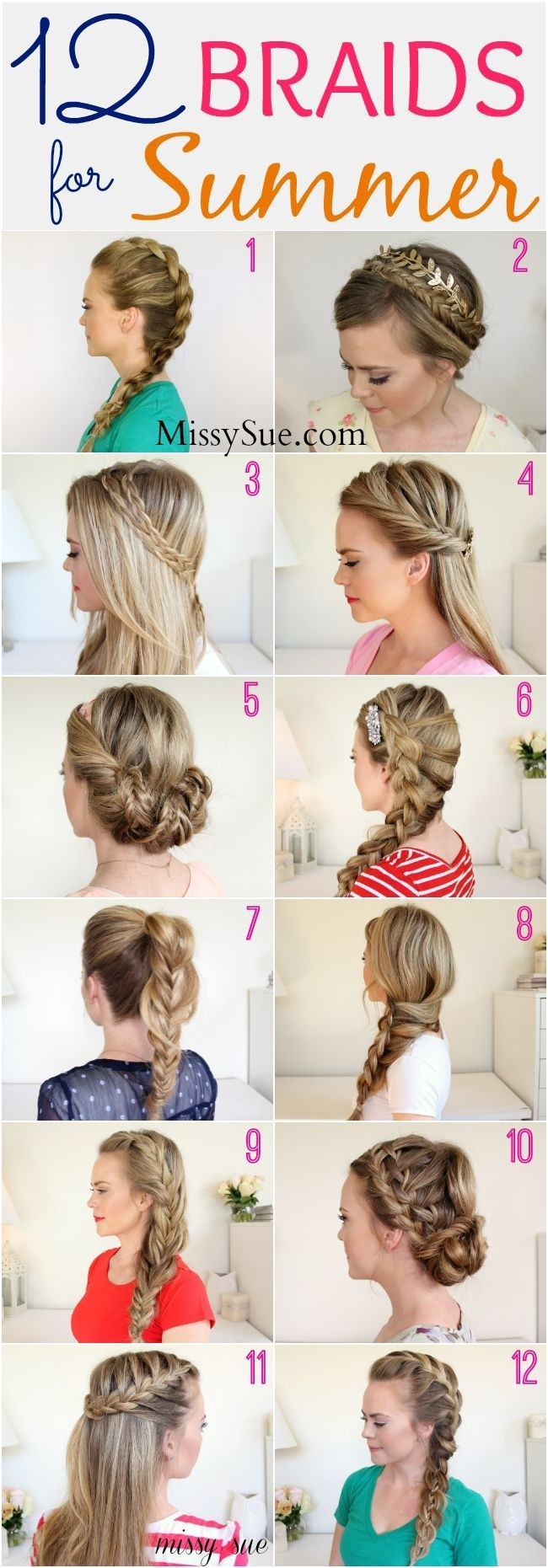 Braids for Summer