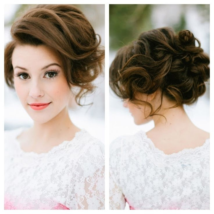 30 hottest bridesmaid hairstyles for long hair popular haircuts bridesmaid hair and makeup messy updos junglespirit Images