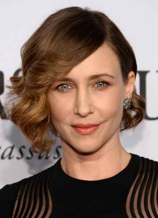 Celebrity Short Haircuts 2014 - 2015: Vera Farmiga Short Curls
