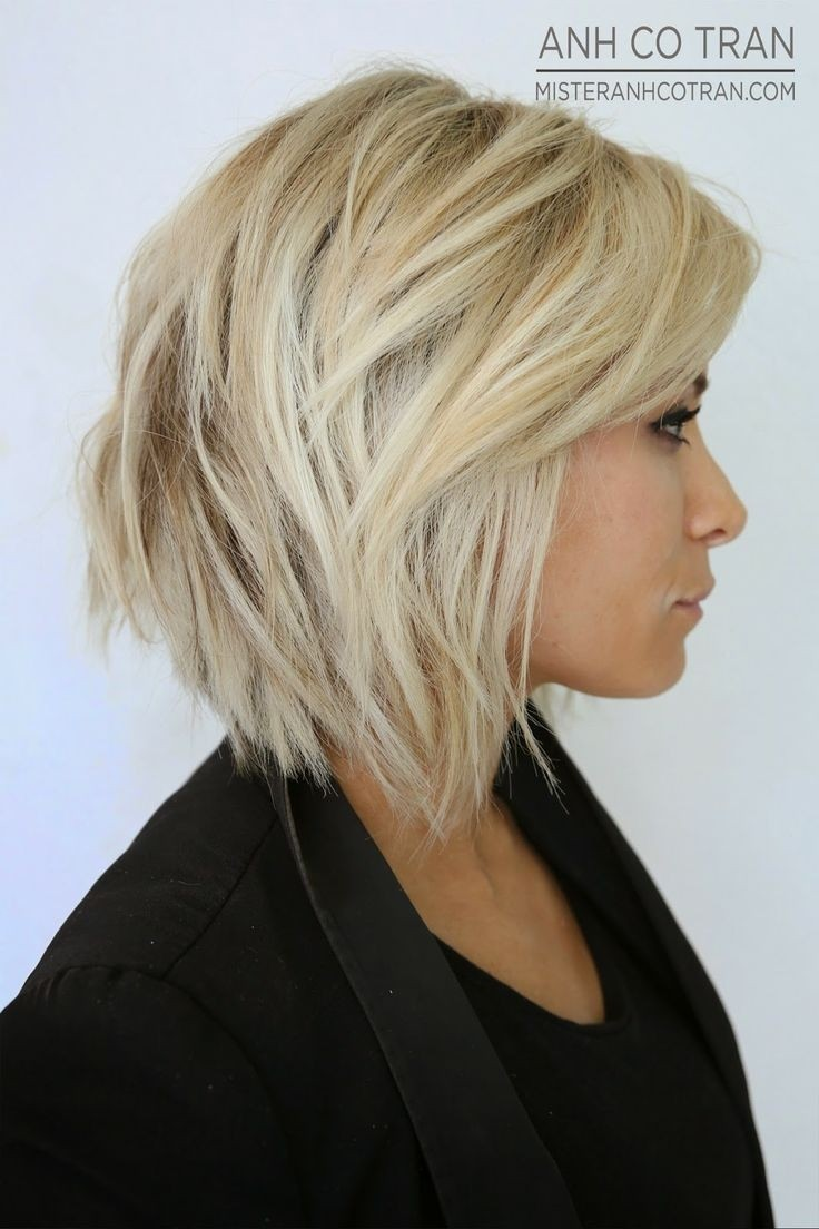 Short layers haircuts