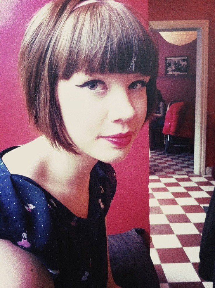 Cut Is Too Cute: Classic Short Bob Hairstyle