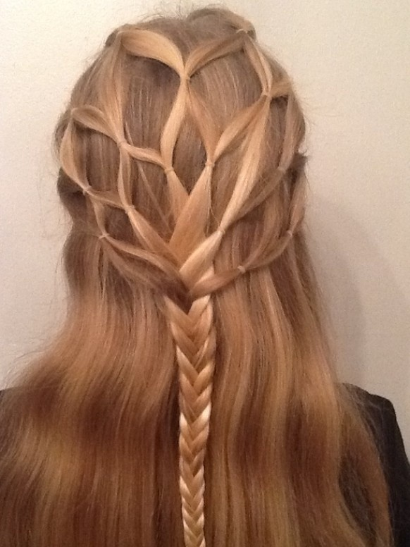 DIY Braided Hairstyles: Cute Long Hair