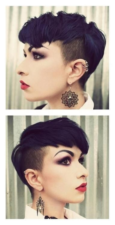 Easy Shaved Pixie Haircuts