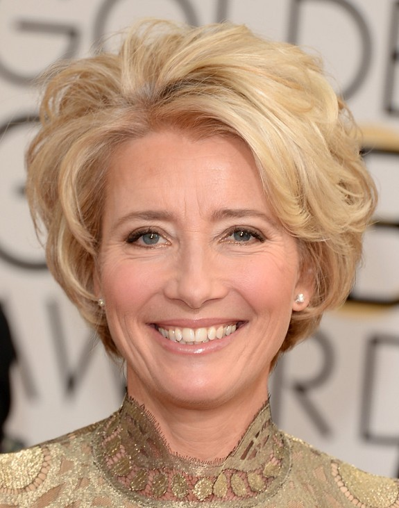 Emma Thompson Short Hair Cut: Frisuren für Frauen über 40 - 50