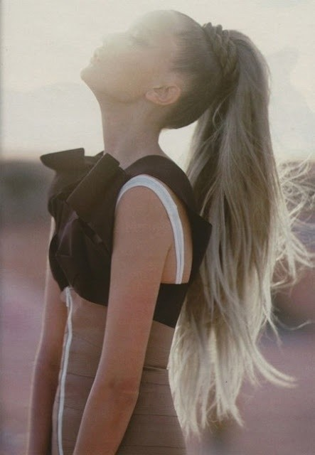 High Ponytail Styles for Long Hair: Summer Hairstyles