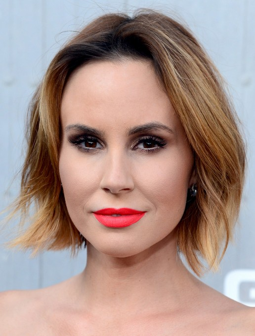 Keltie Knight Short Hairstyle: Ombre Hair