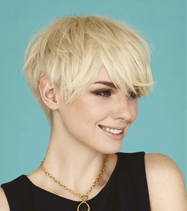 Flippy Short Layers Hairstyle