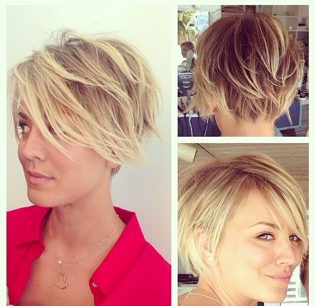 Messy Layered Short Hair Cute Hairstyles For Summer 2017
