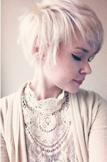 Messy, Light Blonde Hair