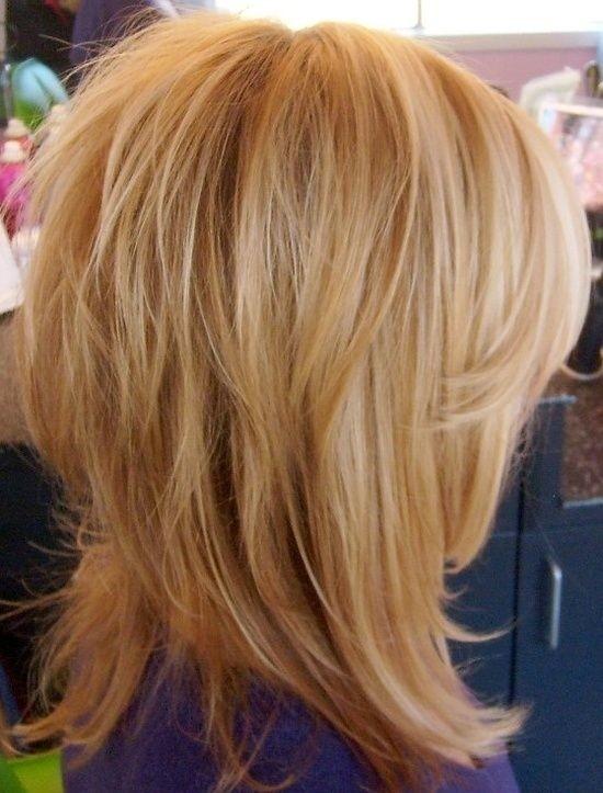 Messy Medium Hairstyle