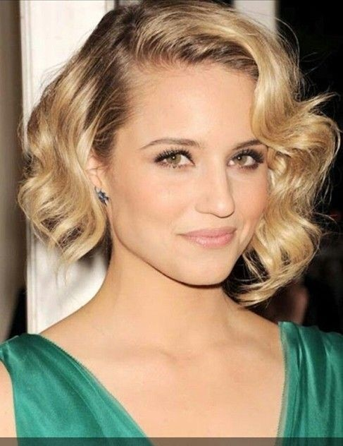 Ombre Bob Hairstyle: Formal Short Hair