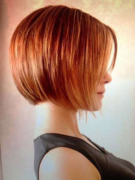 Ombre Hairstyles: Layered Short Bob Haircut