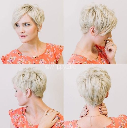 Pixie Cropped: Layered Hair