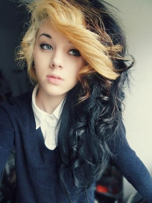 Wonderful Pretty Long Wavy Hairstyle For SchoolPinterest
