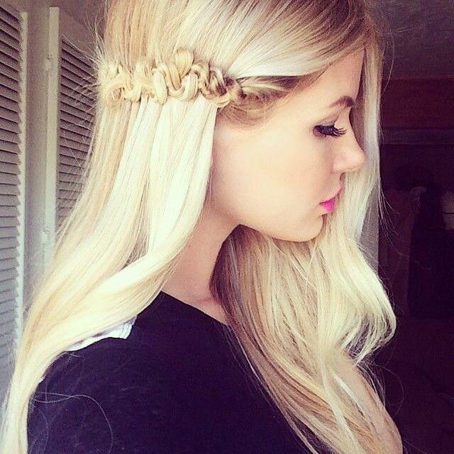 Pretty Long Hair Style