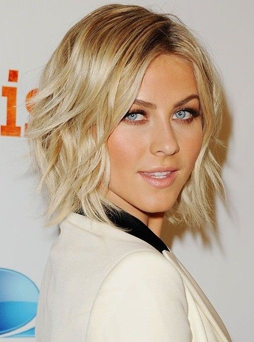 Short Blonde Bob Cut