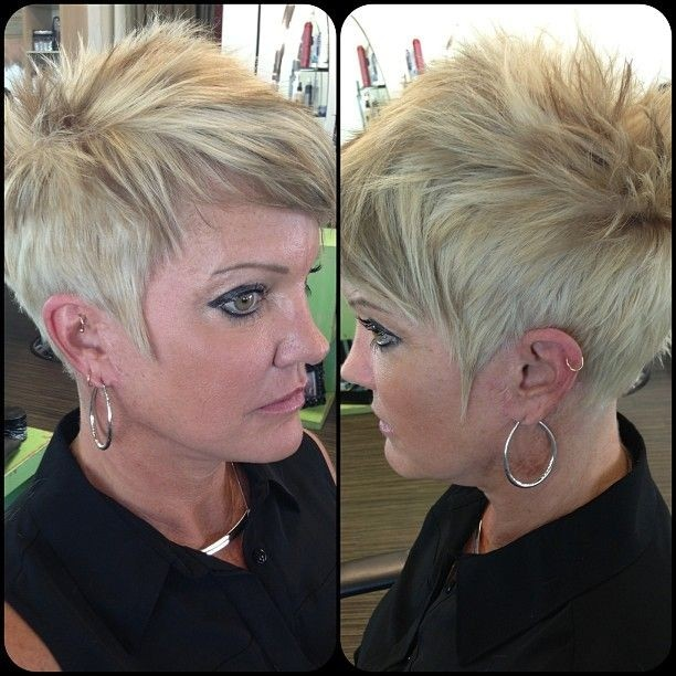 Short Spikey Hairstyles For Women Over 40 50 Popular Haircuts