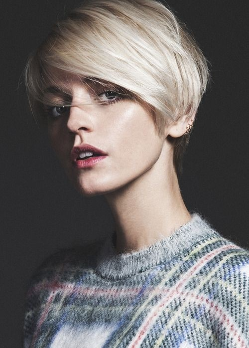 short hair vogue essay